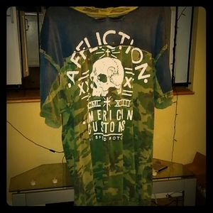 Affliction american customs xx large t-shirt